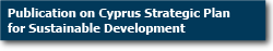 Publication on Cyprus Strategic Plan for Sustainable Development