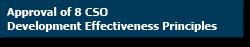 CSO Effectiveness